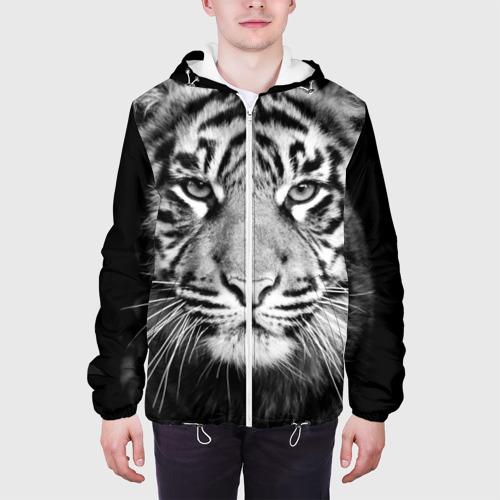 Мужская куртка 3D Красавец тигр Фото 01