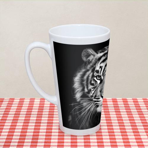 Кружка Латте  Фото 04, Красавец тигр