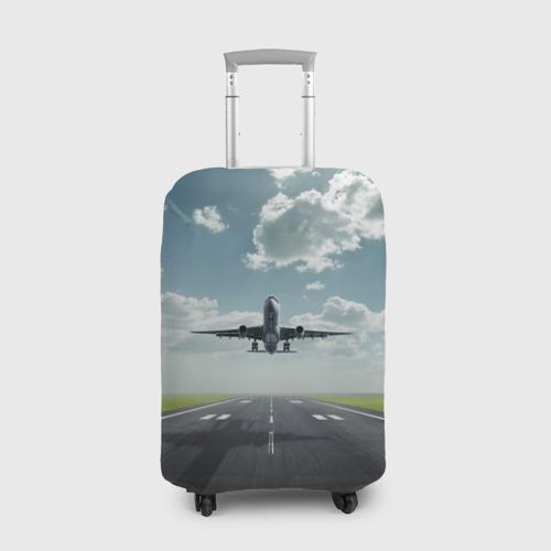Чехол для чемодана 3D Самолет Фото 01