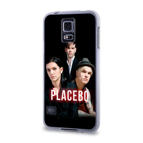 Чехол для Samsung Galaxy S5 силиконовый  Фото 03, Placebo группа