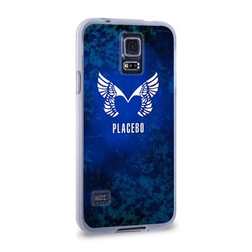 Чехол для Samsung Galaxy S5 силиконовый  Фото 02, Placebo лого