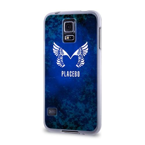 Чехол для Samsung Galaxy S5 силиконовый  Фото 03, Placebo лого