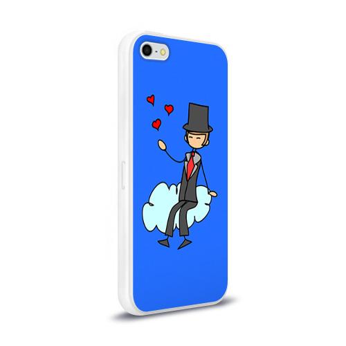 Чехол для Apple iPhone 5/5S силиконовый глянцевый  Фото 02, Вечная любовь