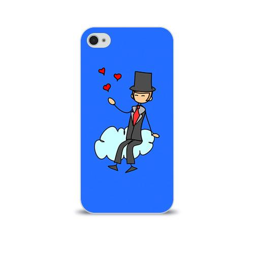 Чехол для Apple iPhone 4/4S soft-touch  Фото 01, Вечная любовь