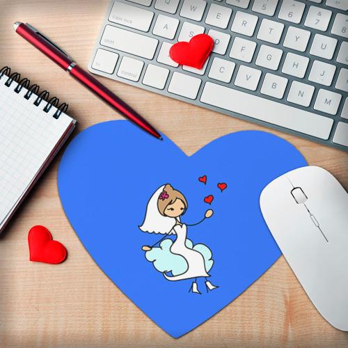 Коврик сердце  Фото 02, Вечная любовь