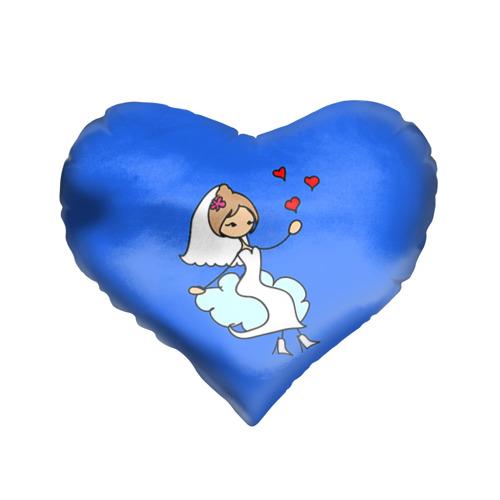 Подушка 3D сердце  Фото 01, Вечная любовь