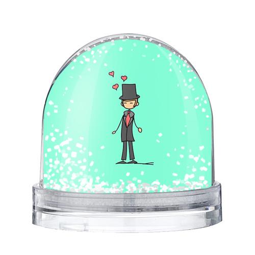 Водяной шар со снегом Жених