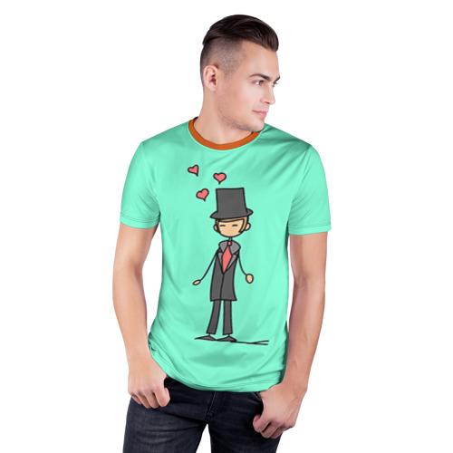 Мужская футболка 3D спортивная  Фото 03, Жених