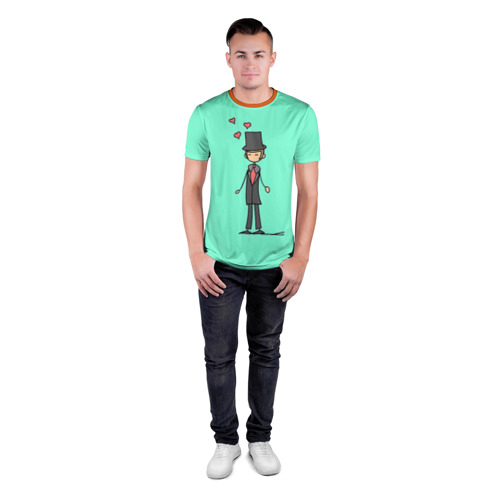 Мужская футболка 3D спортивная  Фото 04, Жених