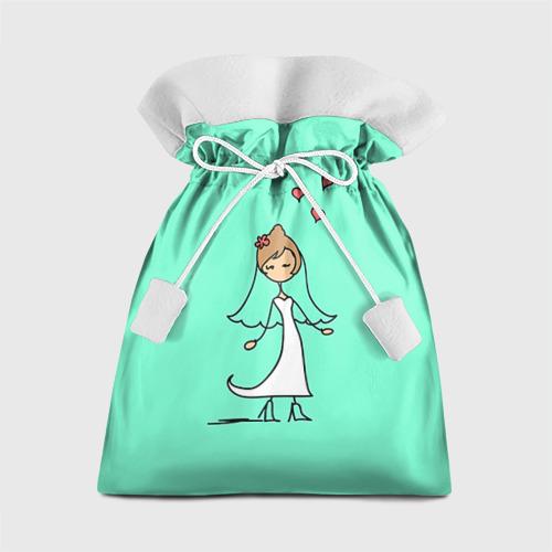 Подарочный 3D мешок Невеста