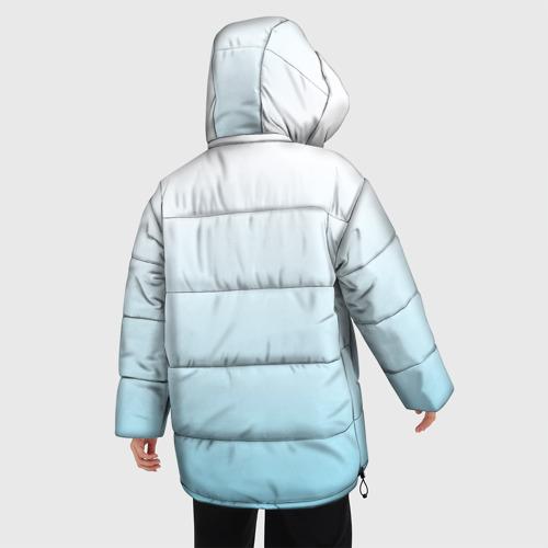 Женская зимняя куртка Oversize Жених на шарике Фото 01