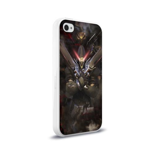 Чехол для Apple iPhone 4/4S силиконовый глянцевый  Фото 02, Overwatch