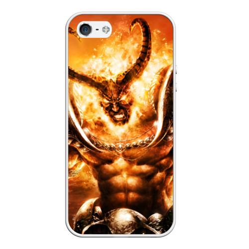 Чехол силиконовый для Телефон Apple iPhone 5/5S Рагнарос от Всемайки