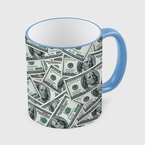 Кружка с полной запечаткой  Фото 01, Банкноты