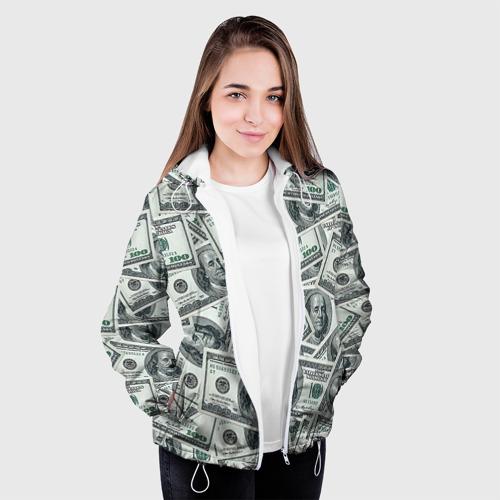 Женская куртка 3D  Фото 04, Банкноты