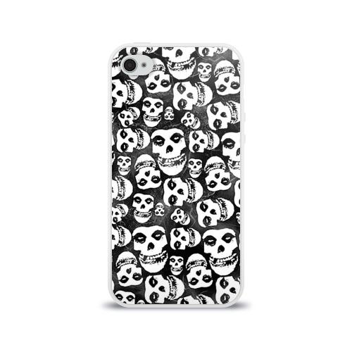 Чехол для Apple iPhone 4/4S силиконовый глянцевый  Фото 01, Misfits