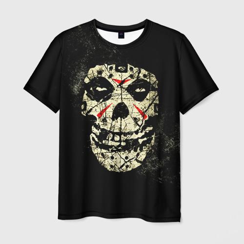 Мужская футболка 3D Череп Фото 01
