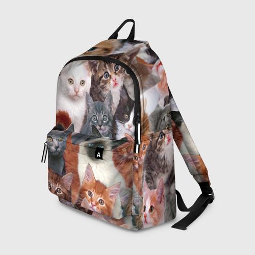 Рюкзак 3D Котики Фото 01