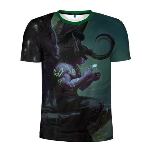 Мужская футболка 3D спортивная  Фото 01, Иллидан