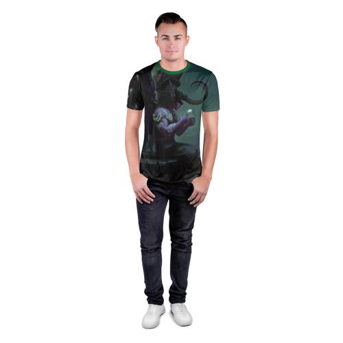 Мужская футболка 3D спортивная  Фото 04, Иллидан