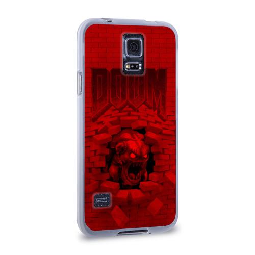 Чехол для Samsung Galaxy S5 силиконовый  Фото 02, Демон
