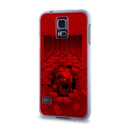 Чехол для Samsung Galaxy S5 силиконовый  Фото 03, Демон