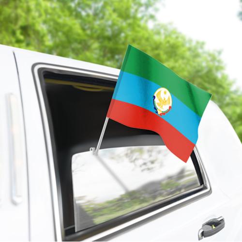 Флаг для автомобиля Дагестан Фото 01