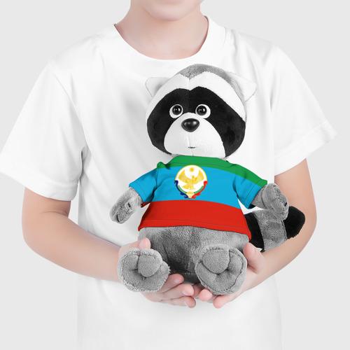 Енотик в футболке 3D Дагестан Фото 01