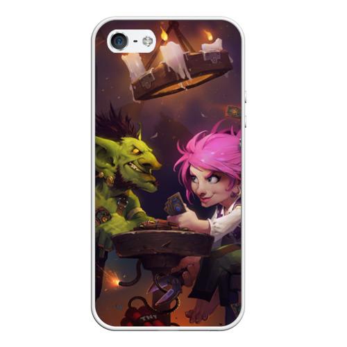Чехол силиконовый для Телефон Apple iPhone 5/5S Hearthstone