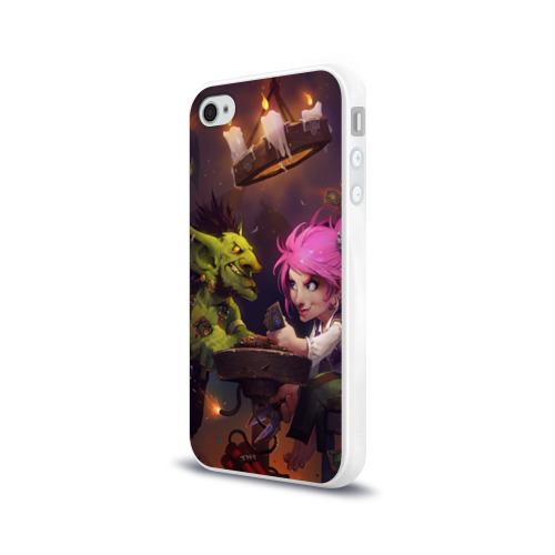 Чехол для Apple iPhone 4/4S силиконовый глянцевый  Фото 03, Hearthstone
