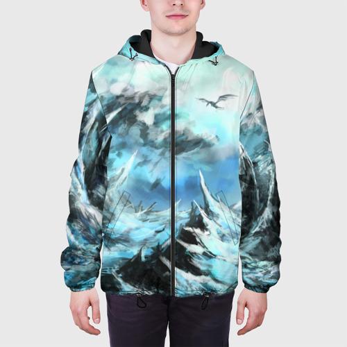 Мужская куртка 3D Горы Фото 01
