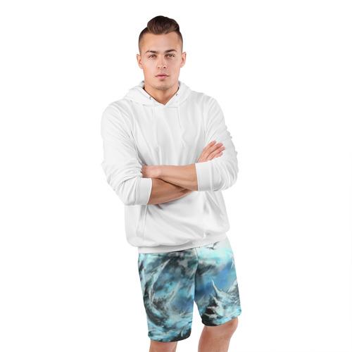 Мужские шорты 3D спортивные  Фото 05, Горы