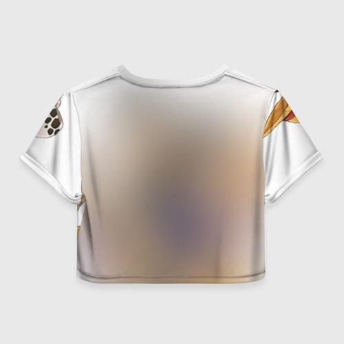 Женская футболка 3D укороченная  Фото 02, Two