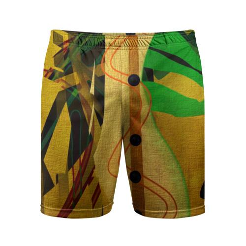 Мужские шорты 3D спортивные Сафари