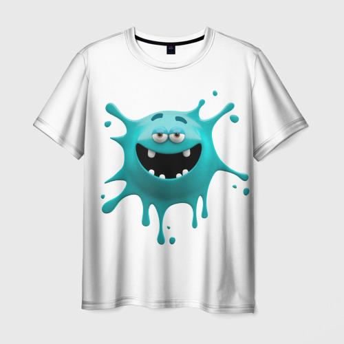 Мужская футболка 3D  Фото 03, Смайлик