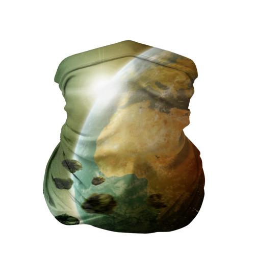 Бандана-труба 3D  Фото 01, Метеориты