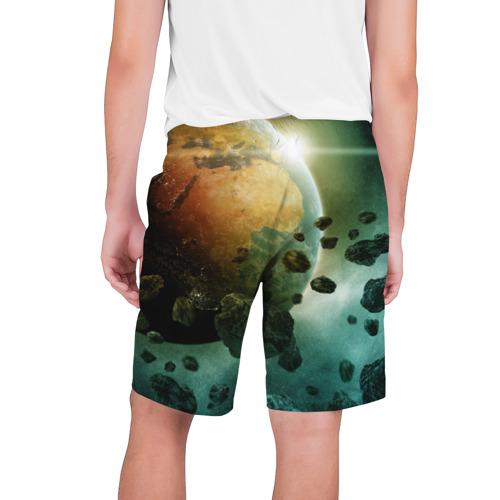 Мужские шорты 3D  Фото 02, Метеориты