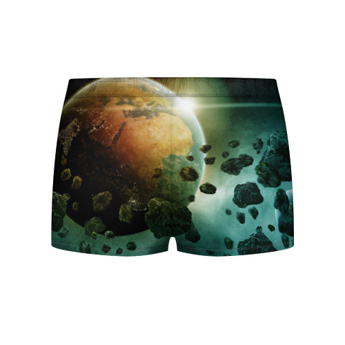 Мужские трусы 3D  Фото 02, Метеориты