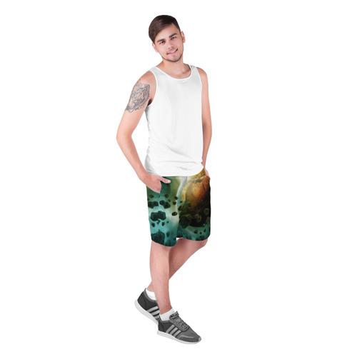 Мужские шорты 3D  Фото 03, Метеориты