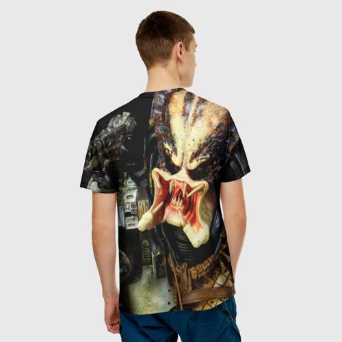 Мужская футболка 3D Чужой Фото 01