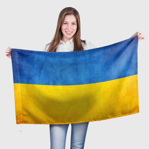 Флаг 3D Украина Фото 01