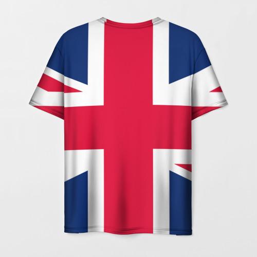 Мужская футболка 3D Великобритания Фото 01