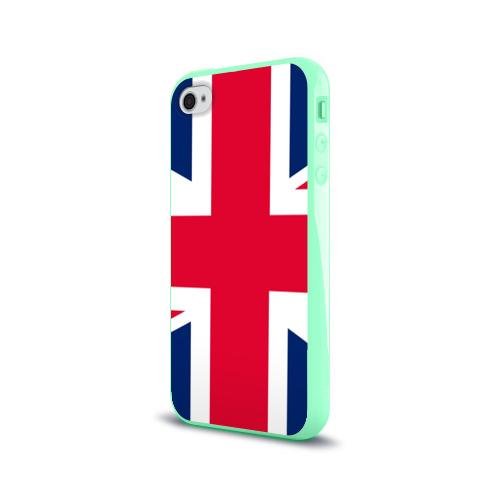 Чехол для Apple iPhone 4/4S силиконовый глянцевый Великобритания Фото 01
