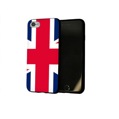 Чехол для Apple iPhone 8 силиконовый глянцевый Великобритания Фото 01