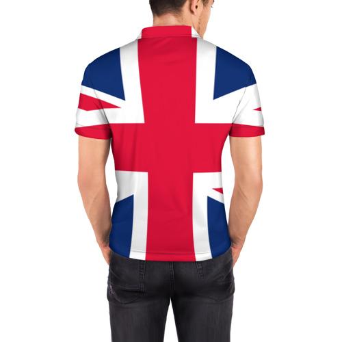 Мужская рубашка поло 3D Великобритания Фото 01