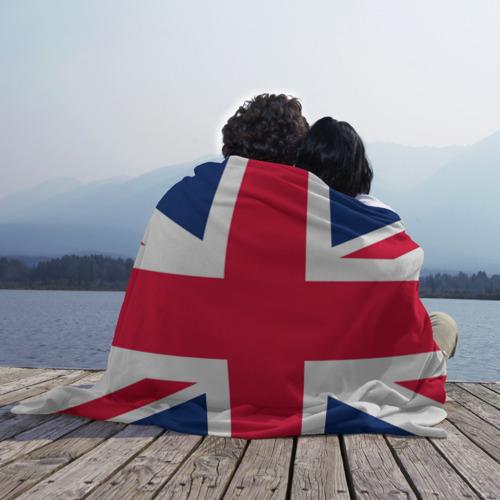 Плед 3D Великобритания Фото 01