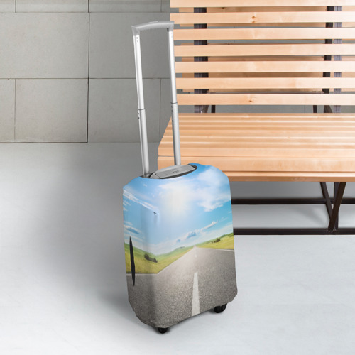 Чехол для чемодана 3D  Фото 03, По дороге жизни