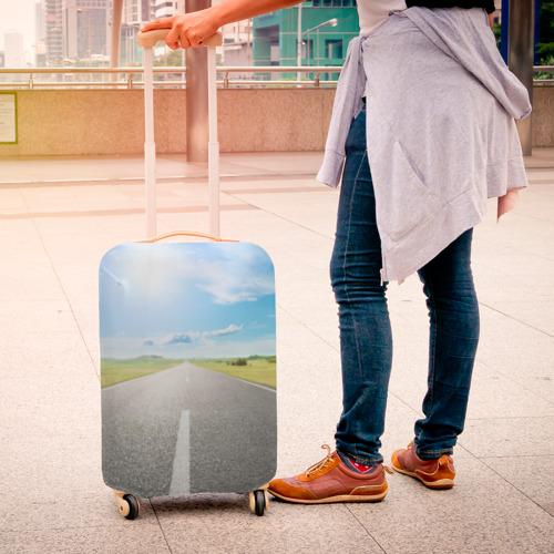 Чехол для чемодана 3D  Фото 04, По дороге жизни