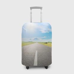 Чехол для чемодана 3DПо дороге жизни