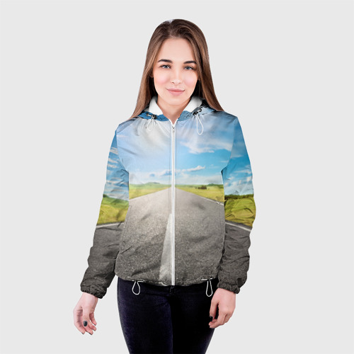 Женская куртка 3D По дороге жизни Фото 01